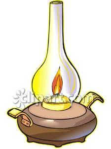 Fashioned oil royalty free. Lamp clipart old time