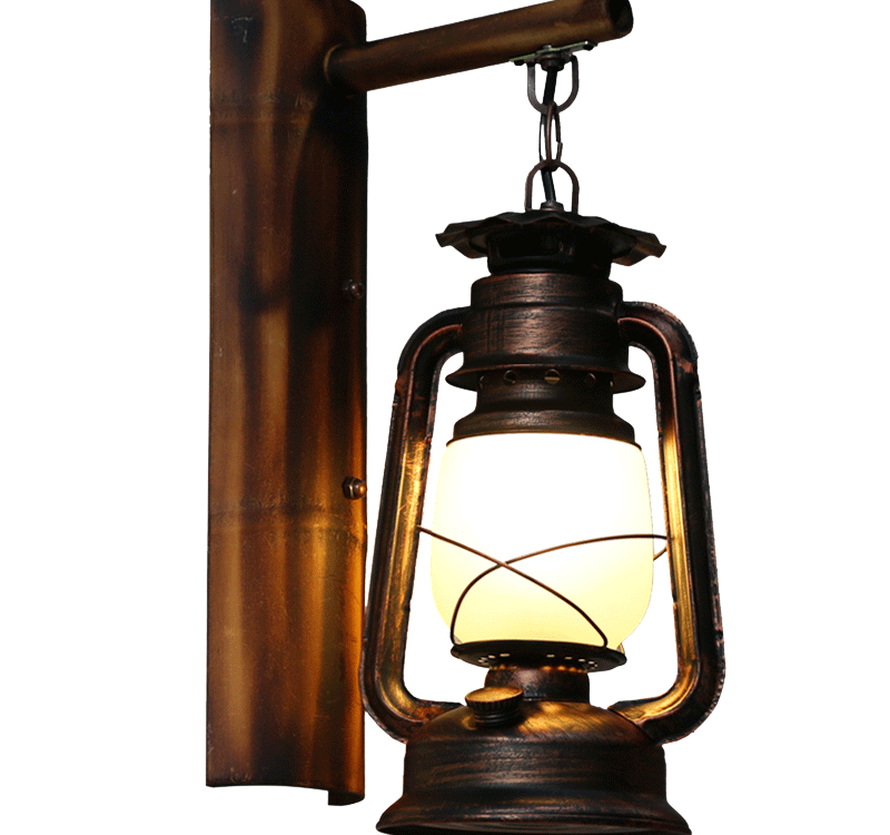 Lamp clipart paraffin lamp. Led kerosene flame bulb