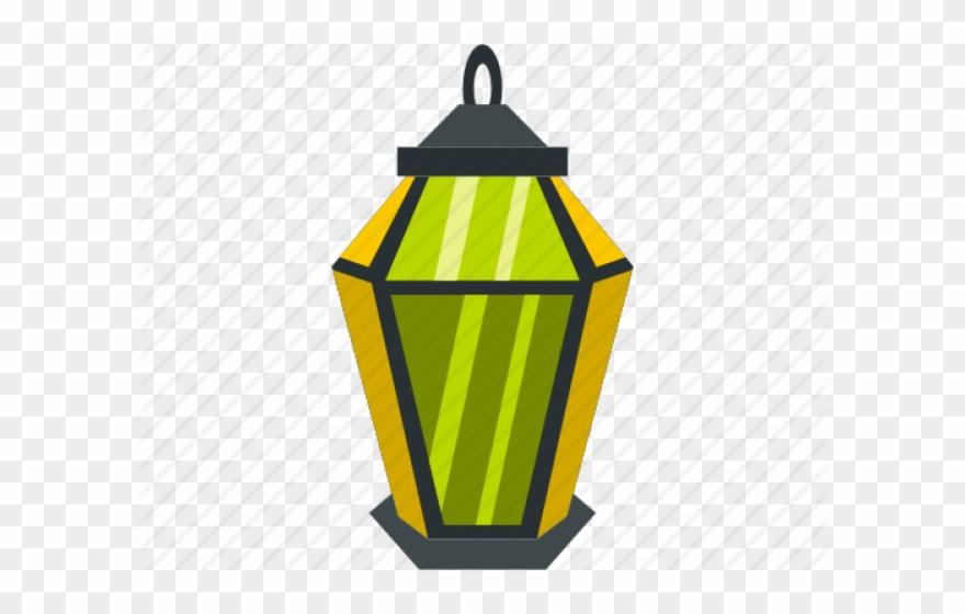Logo flat islamic png. Lamp clipart petromax