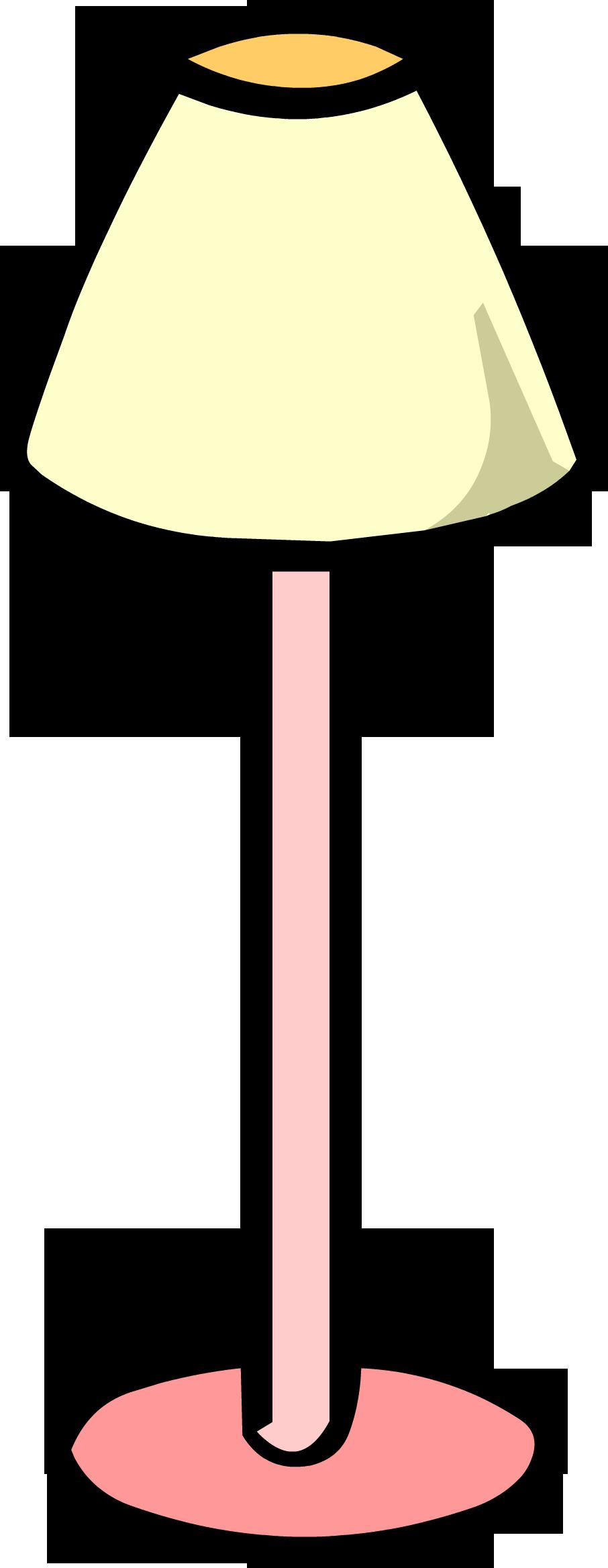 Lamp clipart pink lamp. Club penguin wiki fandom