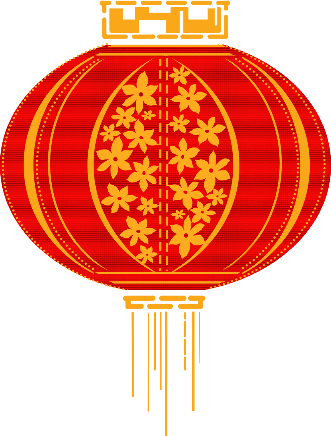 China paper lantern clip. Lamp clipart red lamp