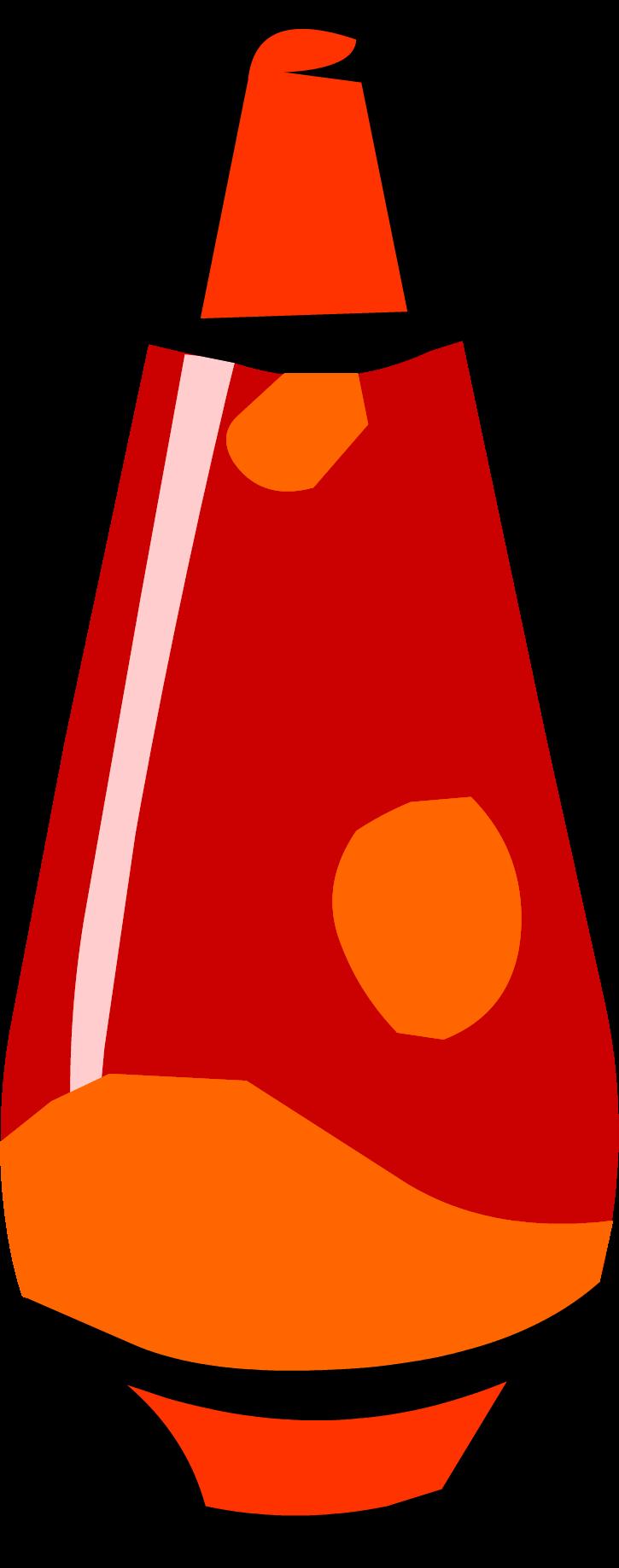 Lava club penguin rewritten. Lamp clipart red lamp
