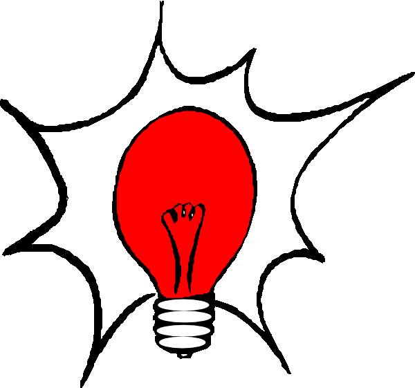 Lamp clipart red lamp. Light bulb clip art