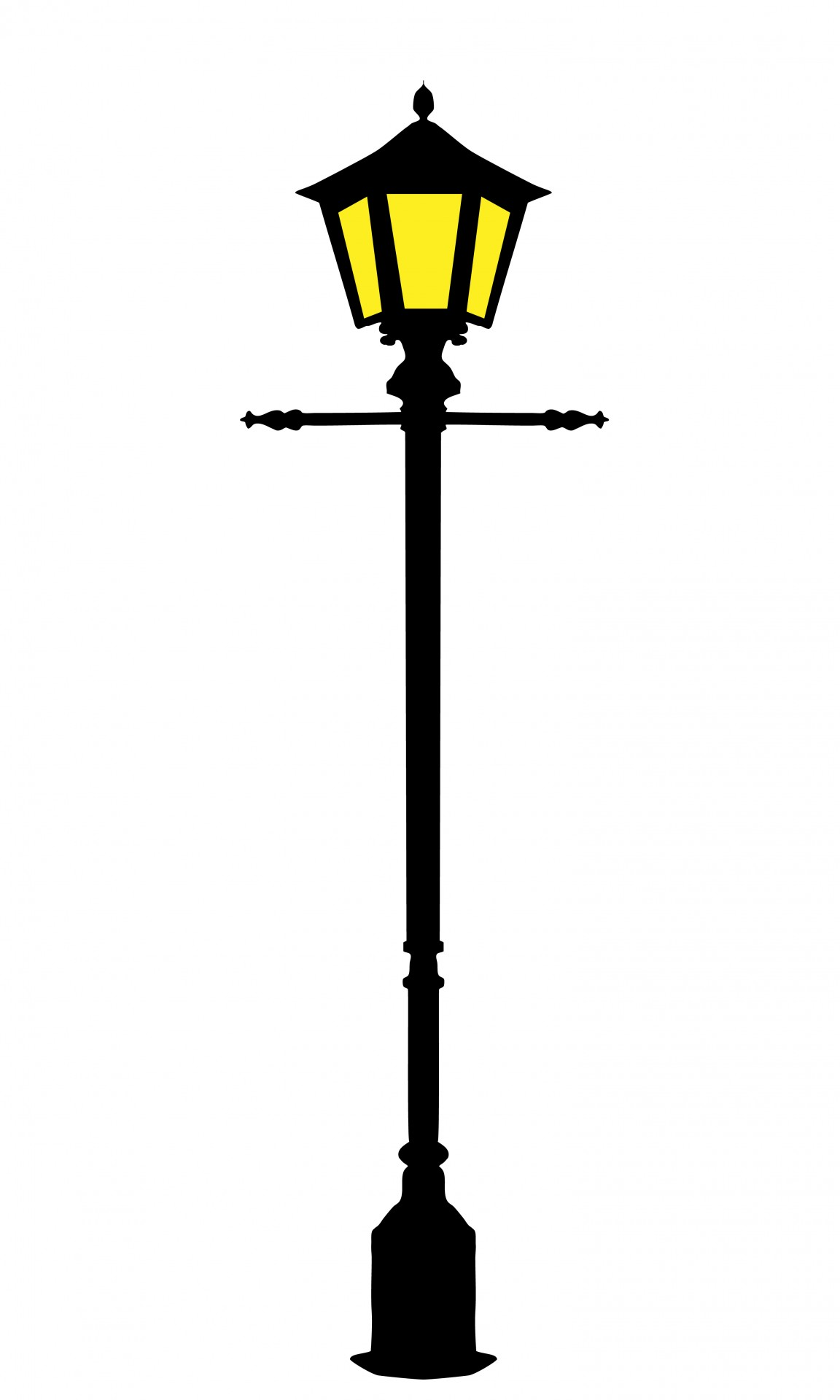 Street light lighting free. Lamp clipart streetlight