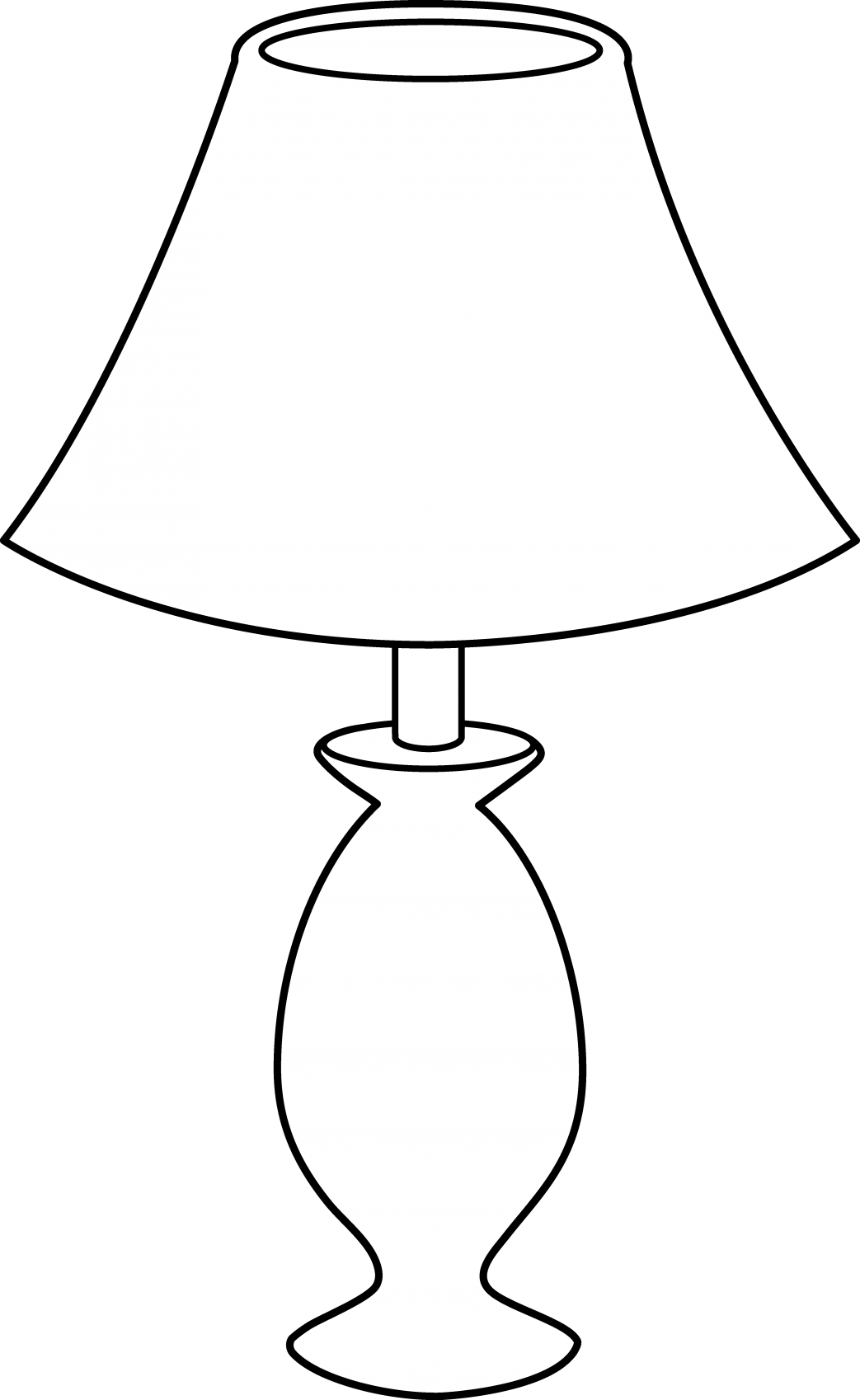 Lamp clipart tall lamp. Glamorous desk lamps at