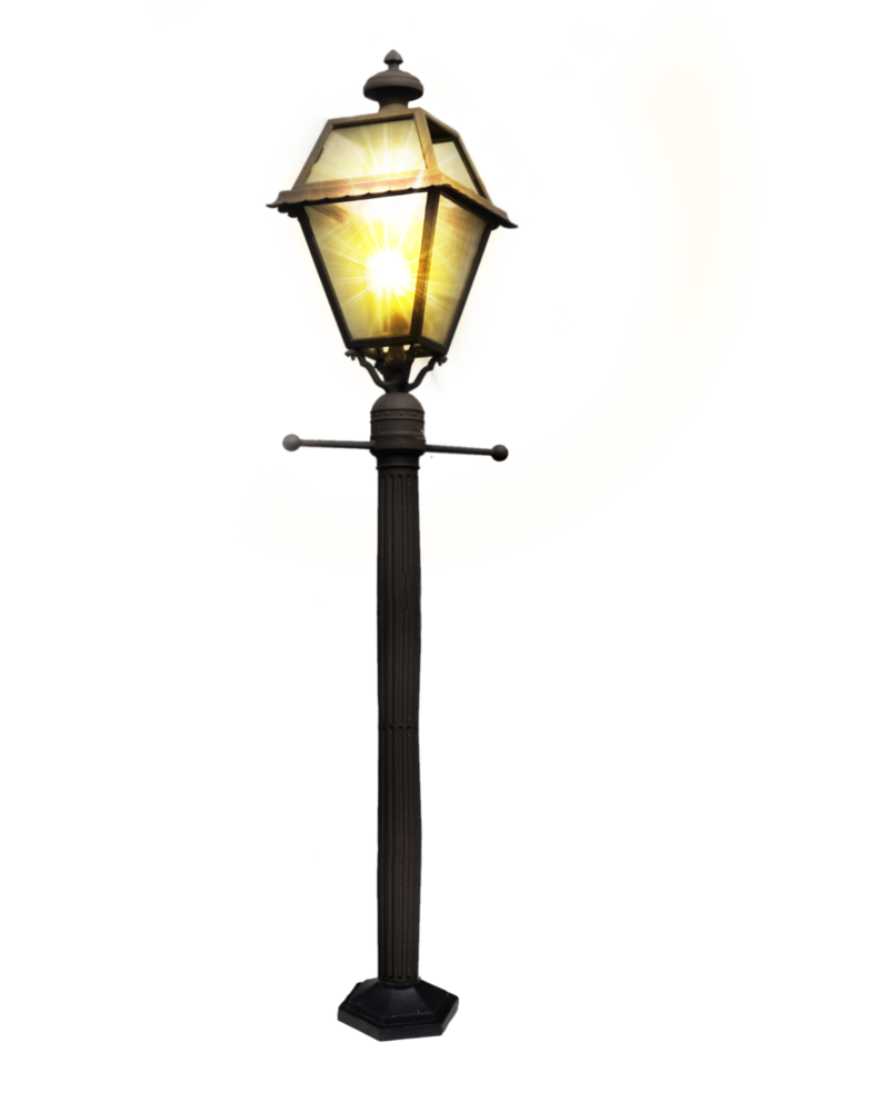 Street vector png post. Lamp clipart tall lamp