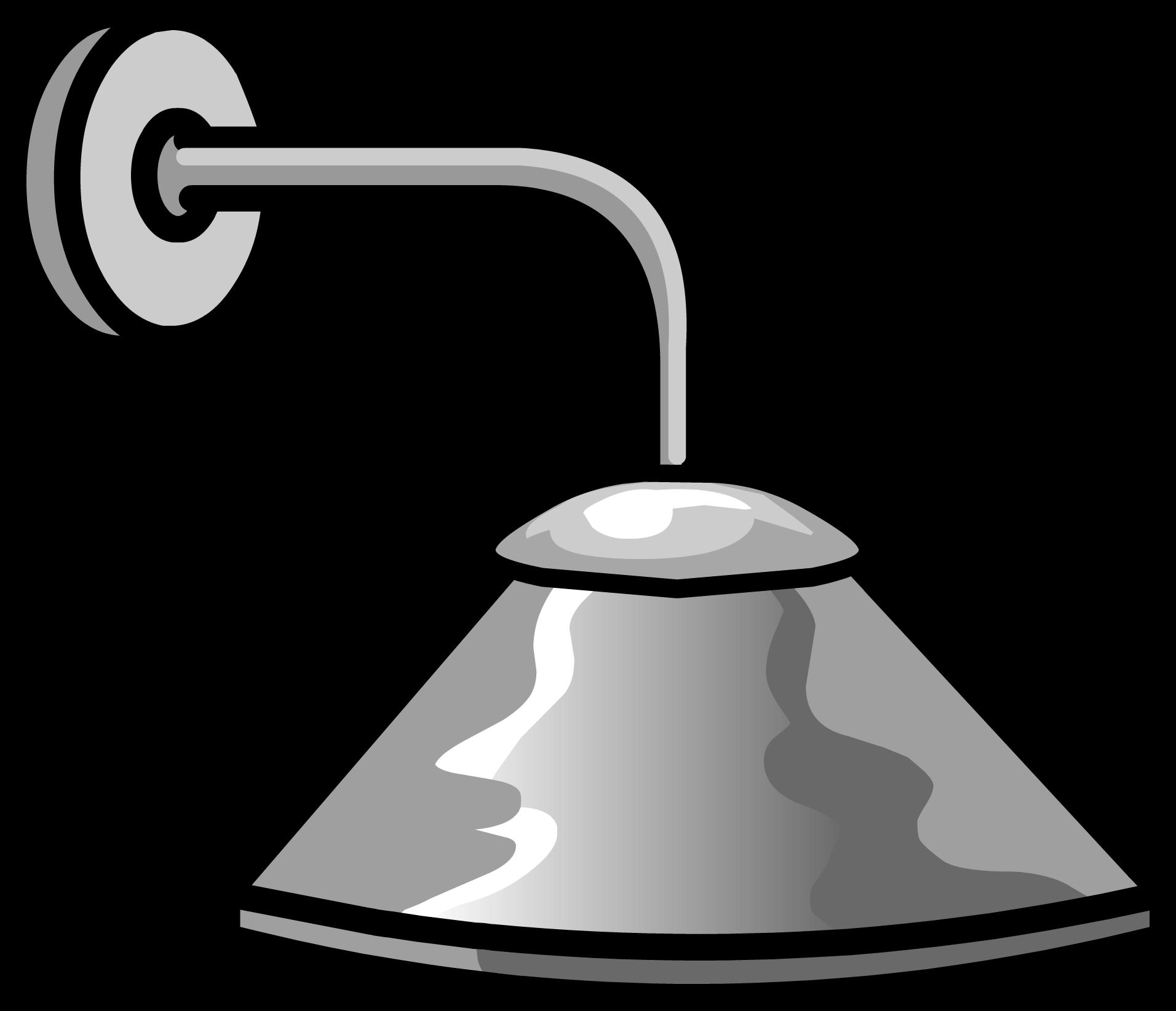 Lamp clipart wall lamp. Overhead light club penguin