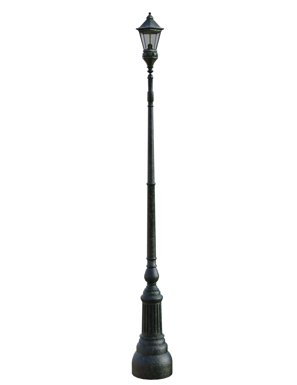 Street light png image. Lamp clipart white background