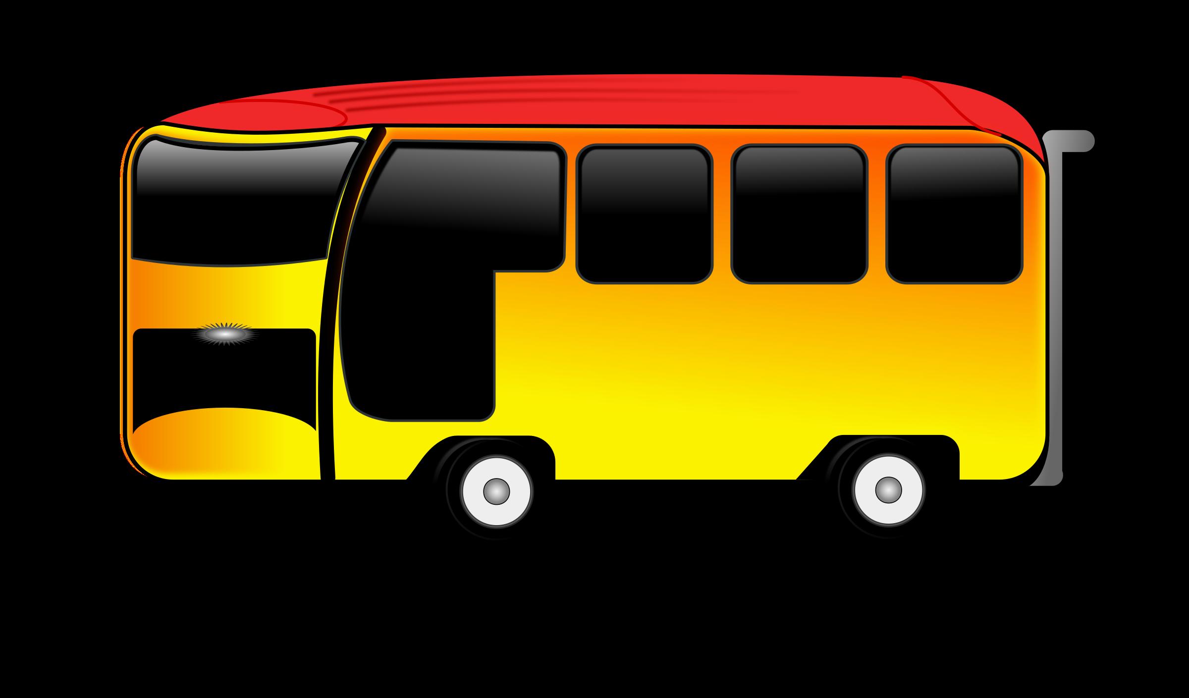 Bus big image png. Land clipart cartoon