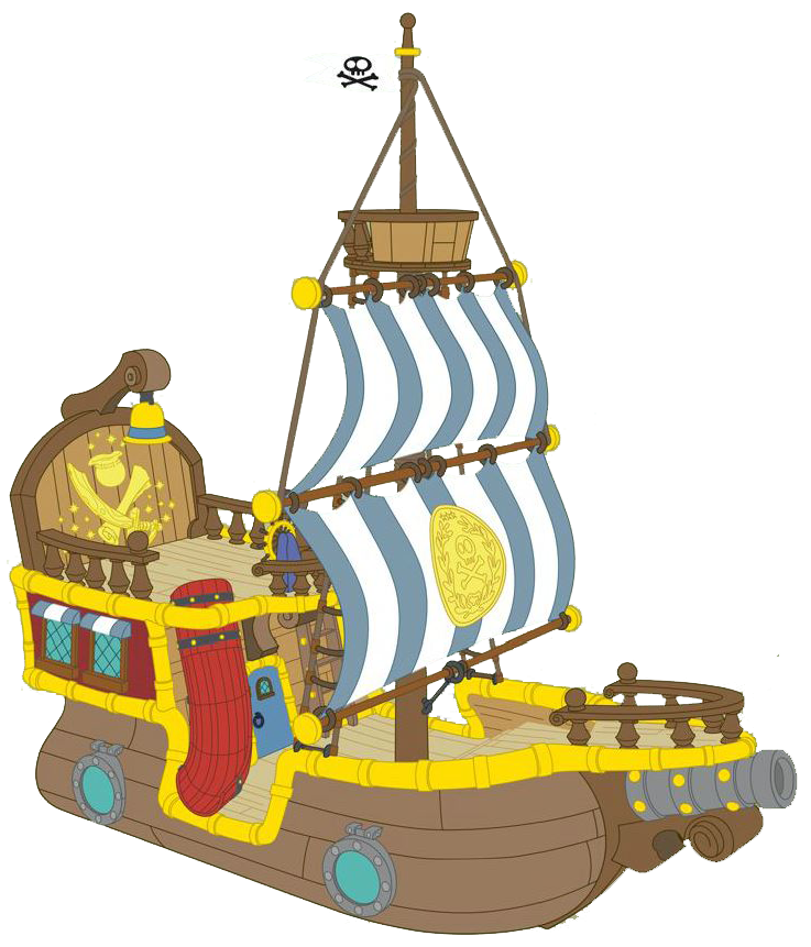 Treasure clipart jake and the neverland pirates. Image bucky clip art