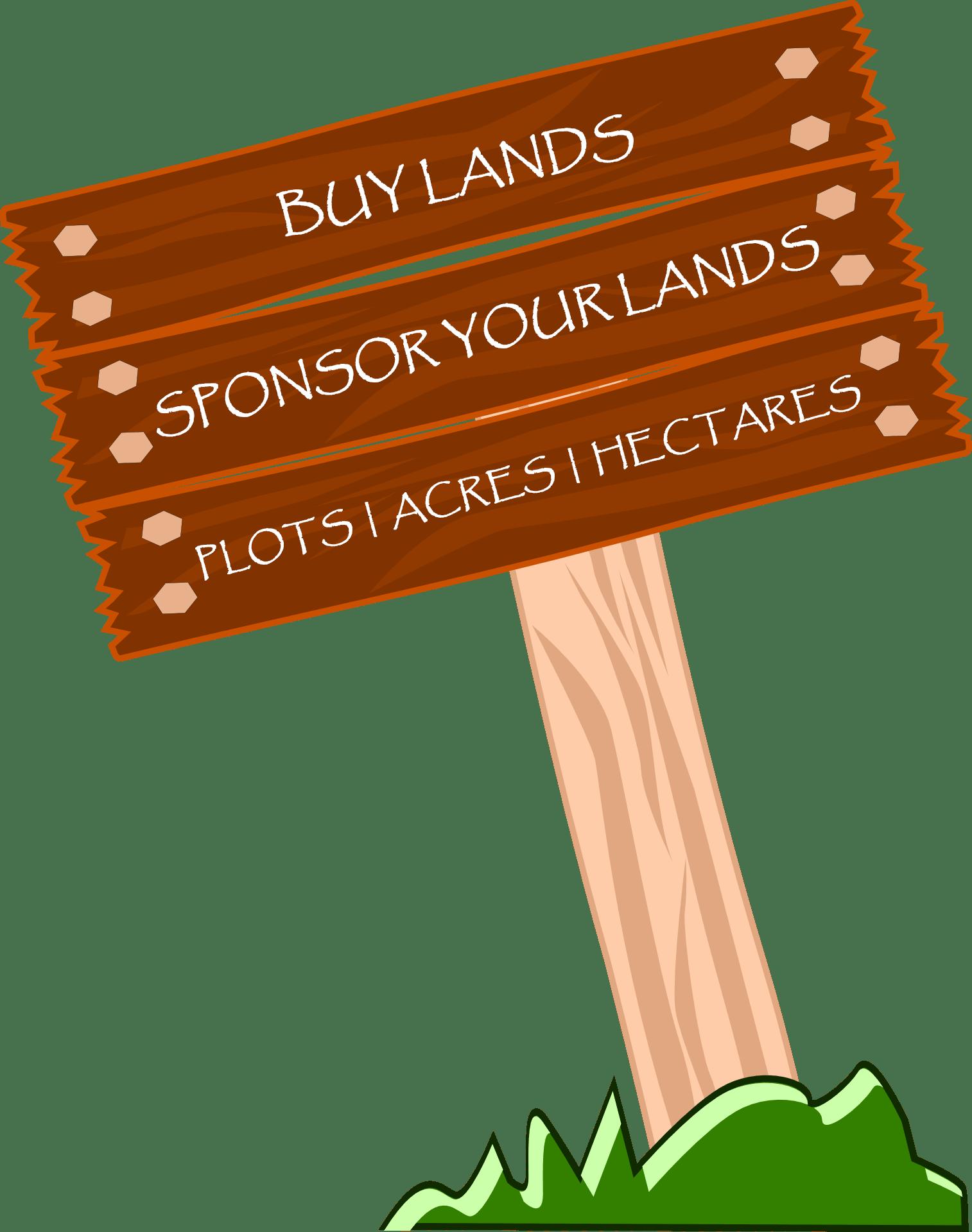 Land clipart plot land. Skyler hank sponsorship sale