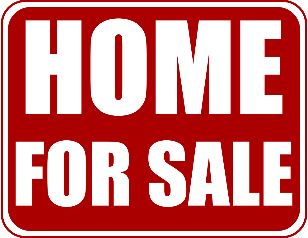 Location clipart vicinity. House for sale sign