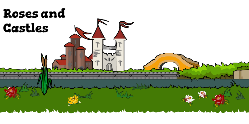 Landscape clipart castle. Games slider canal river