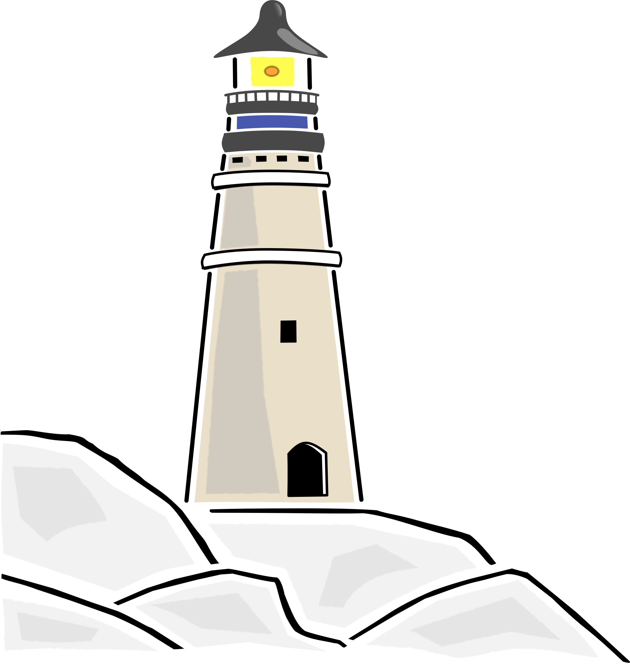 . Lighthouse clipart landscape