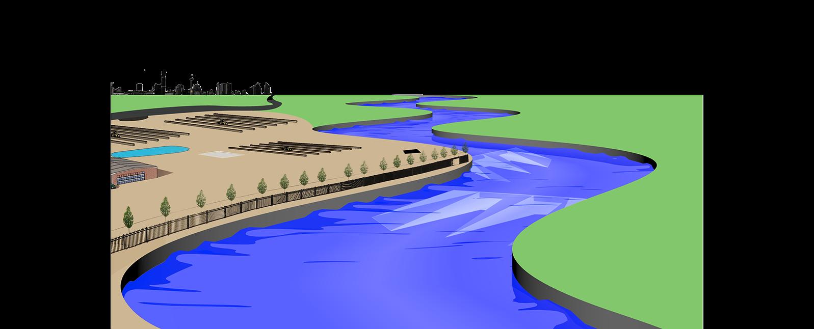 River at getdrawings com. Water clipart scenery