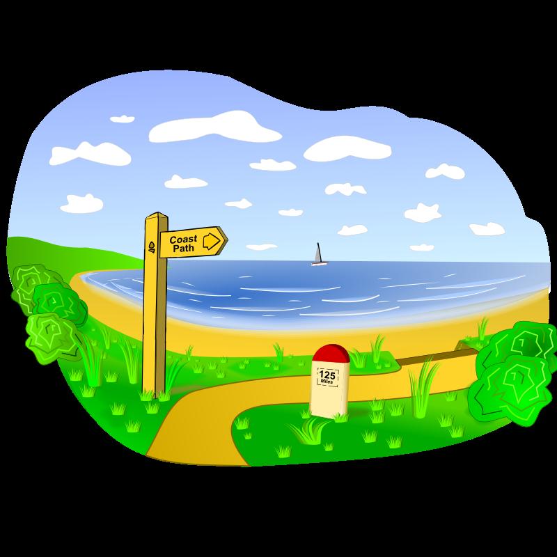 Landscaping cartoon