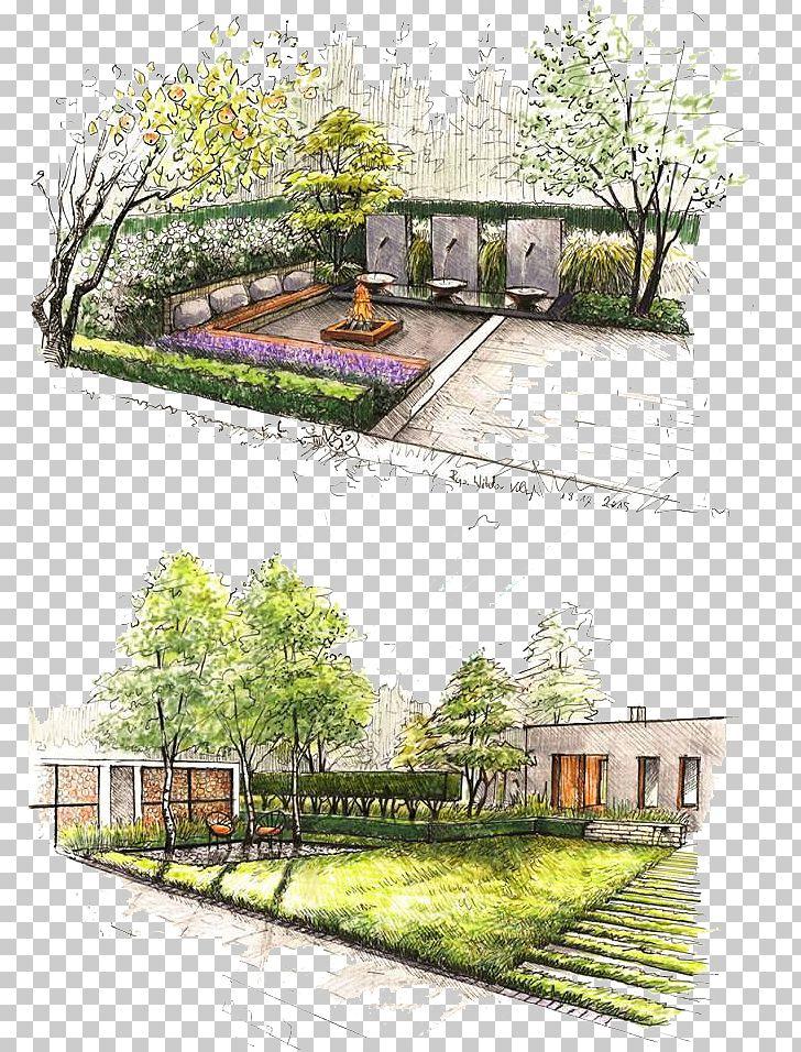 Garden png angle . Landscaping clipart design landscape