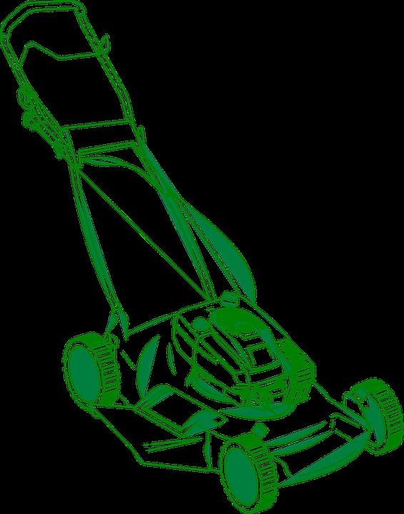 Lawnmower clipart landscape maintenance.  lawn mower yard