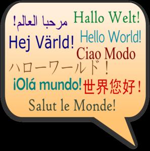 Language clipart. Greeting clip art at
