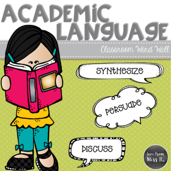 Language clipart academic vocabulary. Word wall english arts
