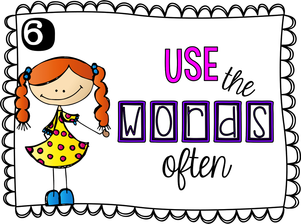 Language clipart academic vocabulary. Bright ideas blog hop