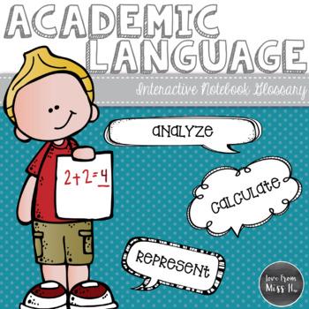 Language clipart academic vocabulary. Glossary math