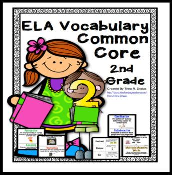 Language clipart academic vocabulary. Ela focused word wall