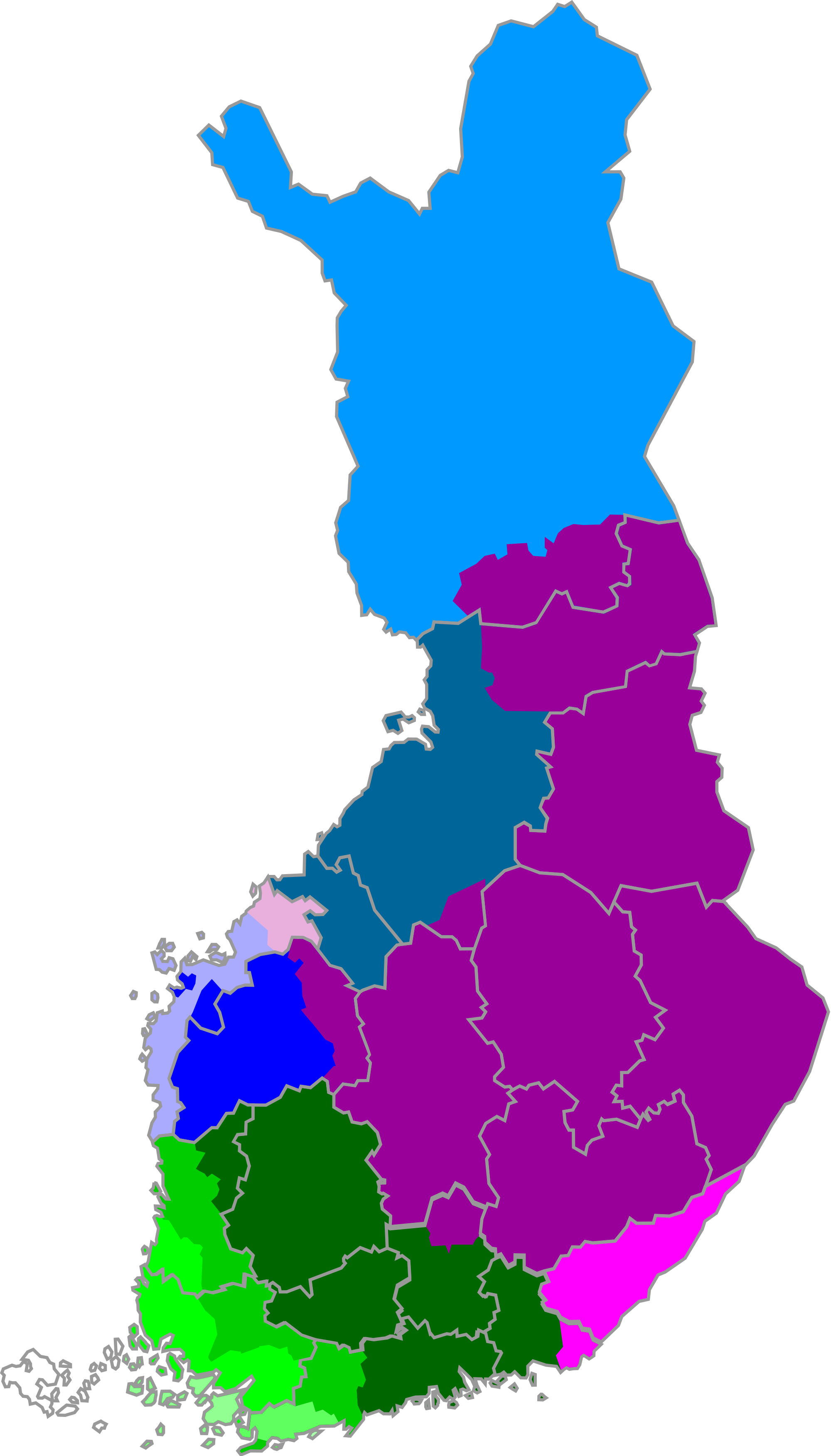 Language clipart dialect. File finnish dialects in