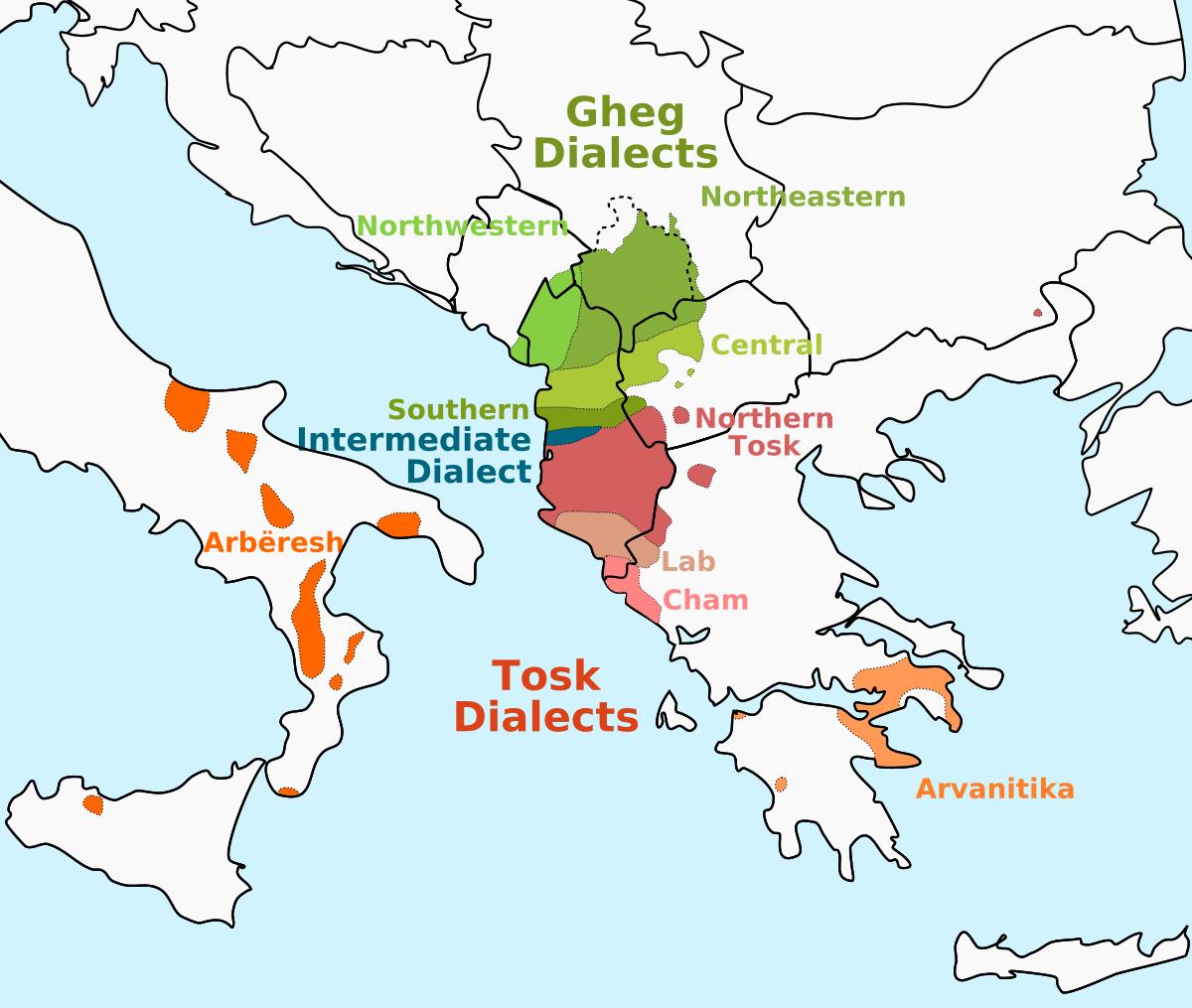 Language clipart dialect. Albanian wikipedia