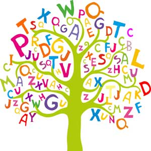 Chopping down the tree. Language clipart syntax