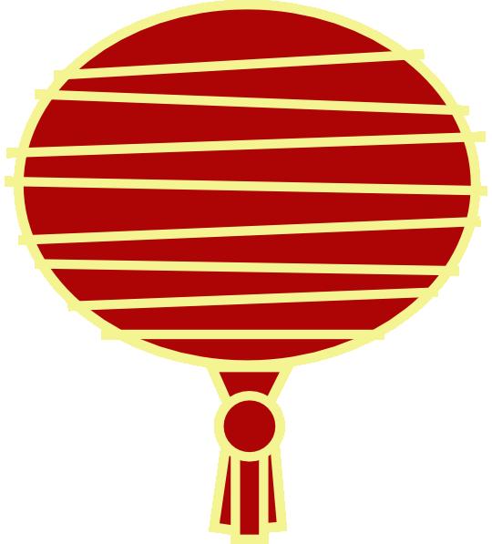 Luau clipart lanterns. Paper lantern red chinese
