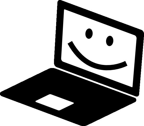 Notebook clipart clipart hd. Happy laptop clip art