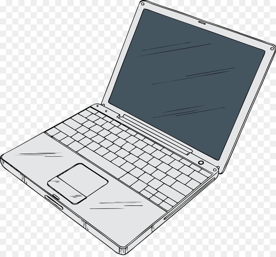 Background technology . Laptop clipart illustration