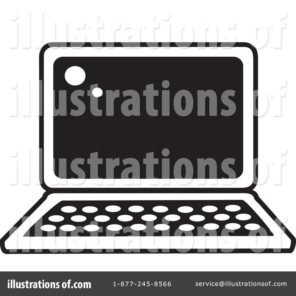 By rosie piter . Laptop clipart illustration