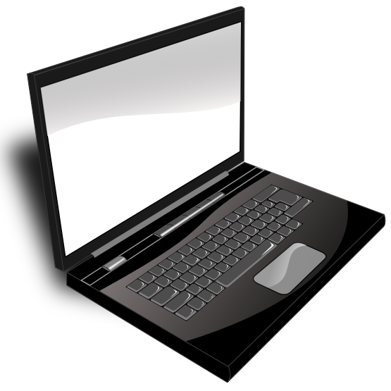 White clipart laptop. Png black and transparent