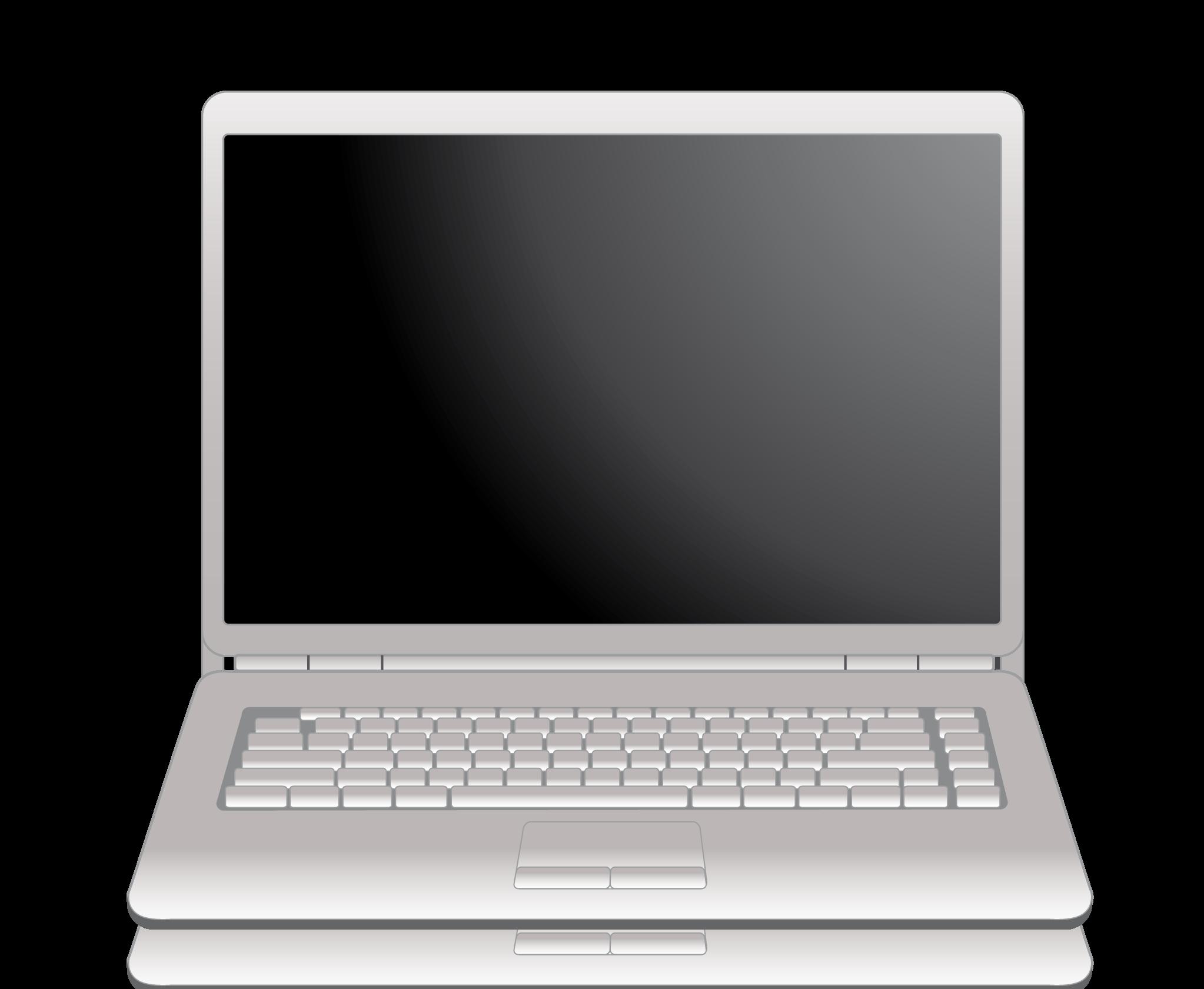 Laptop png transparent images. Pc clipart notebook