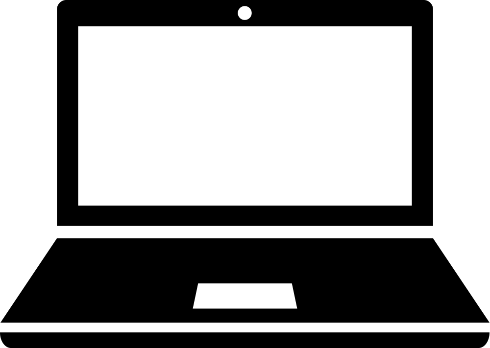 Laptop clipart technology.  collection of black