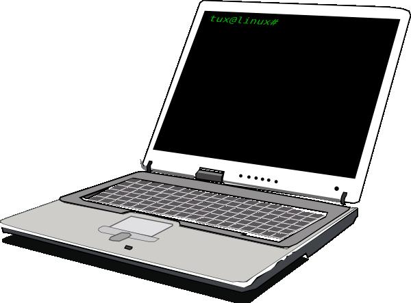 Laptop clipart. Clip art at clker