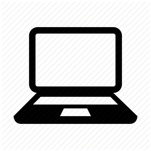 Laptop icon png. Proglyphs communication and devices