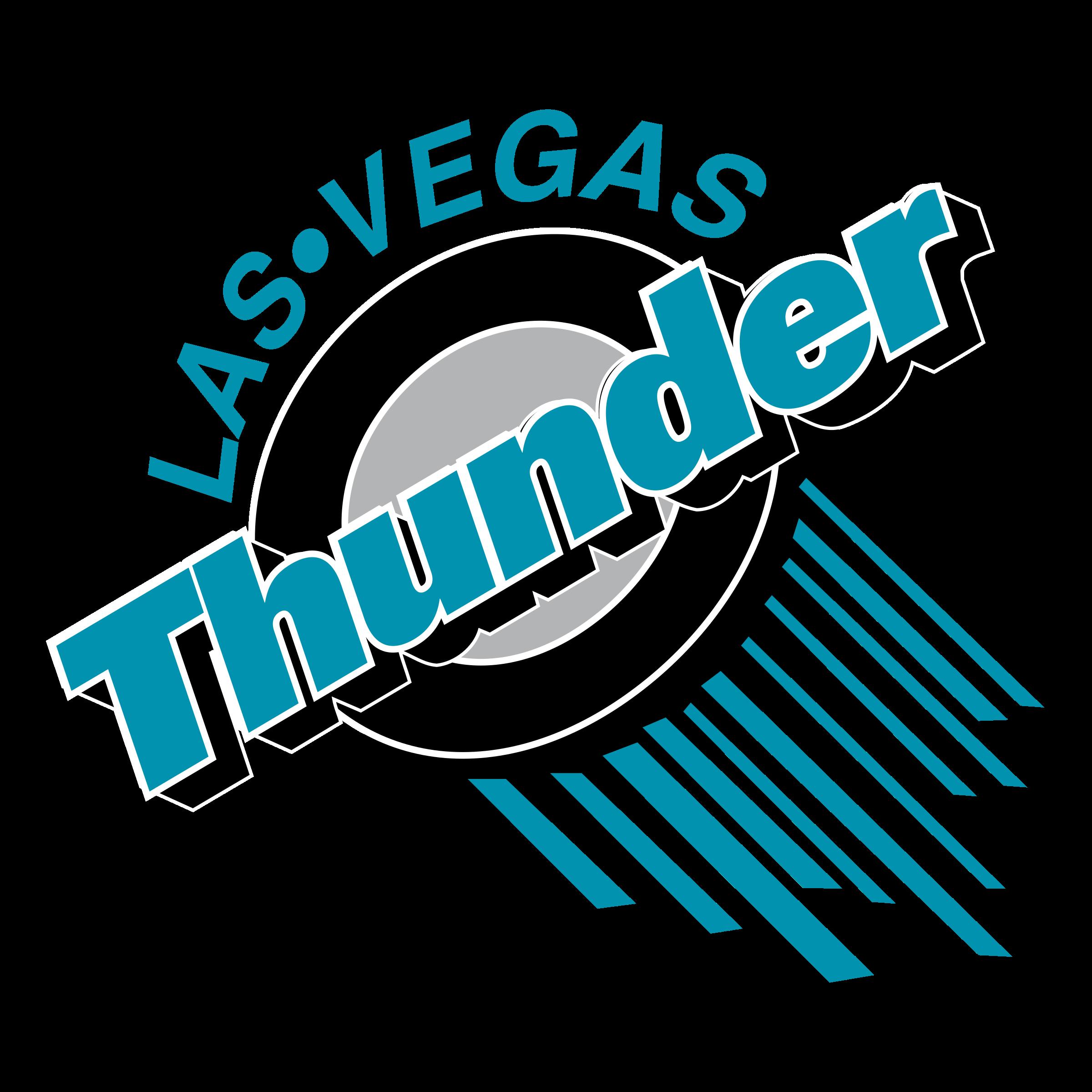 Thunder logo png transparent. Las vegas clipart sketch