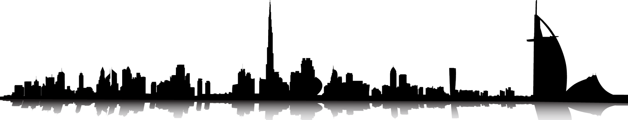 Skyline clipart chicago downtown. New york city clip