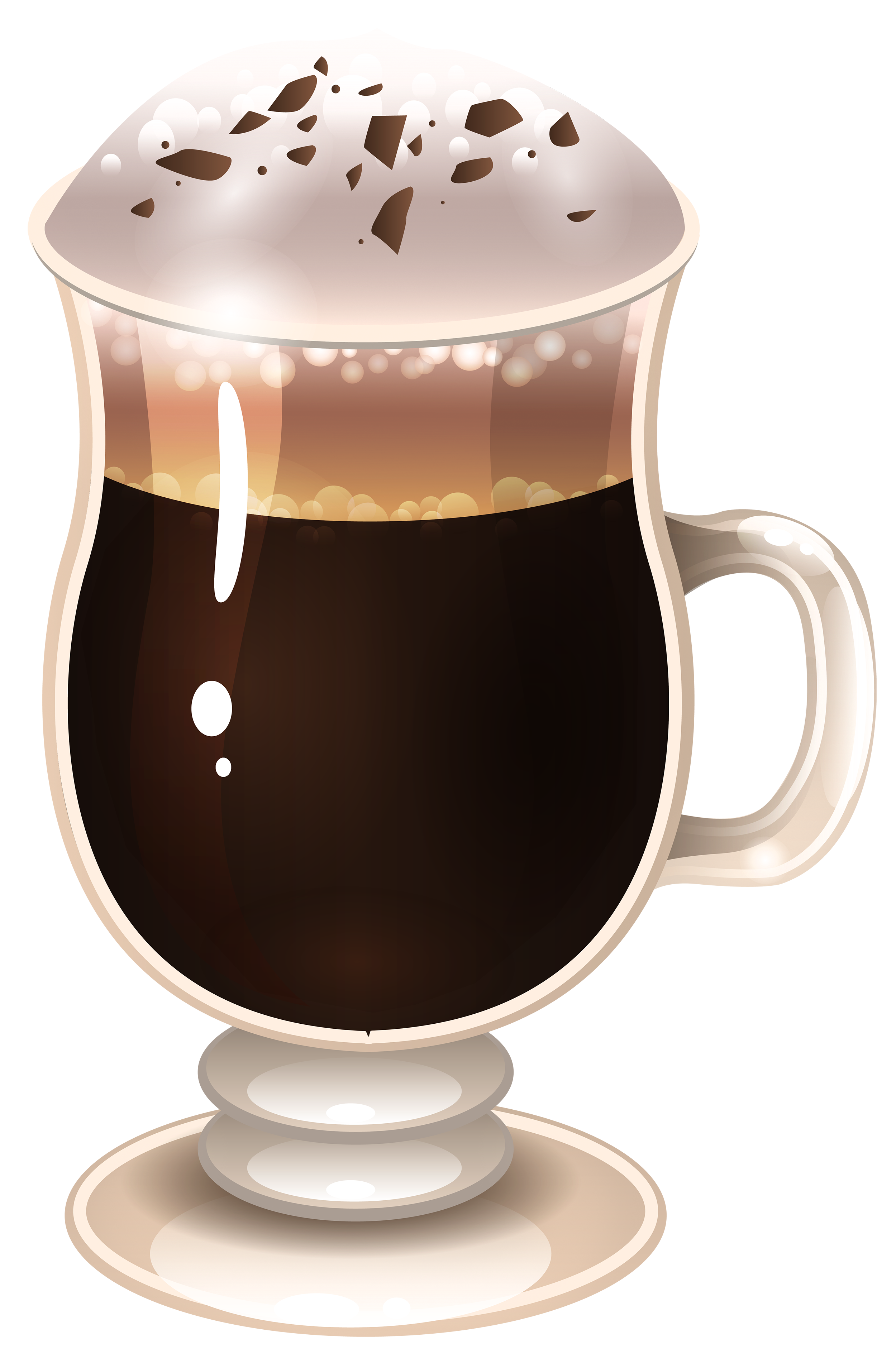 Latte clipart. Coffee png image gallery