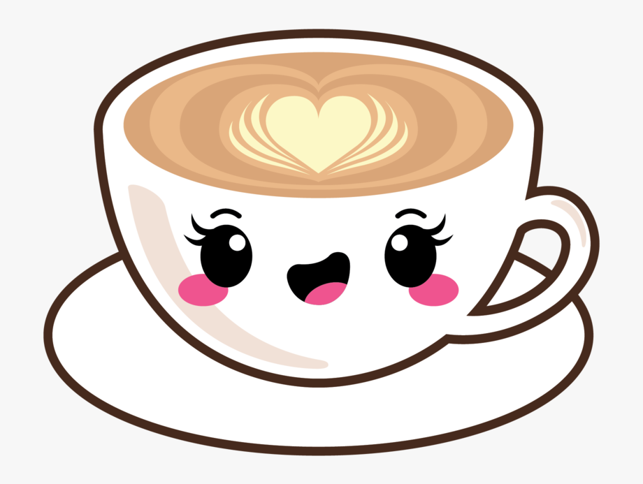 How to Draw Cute Coffee and Doughnut - YouTube