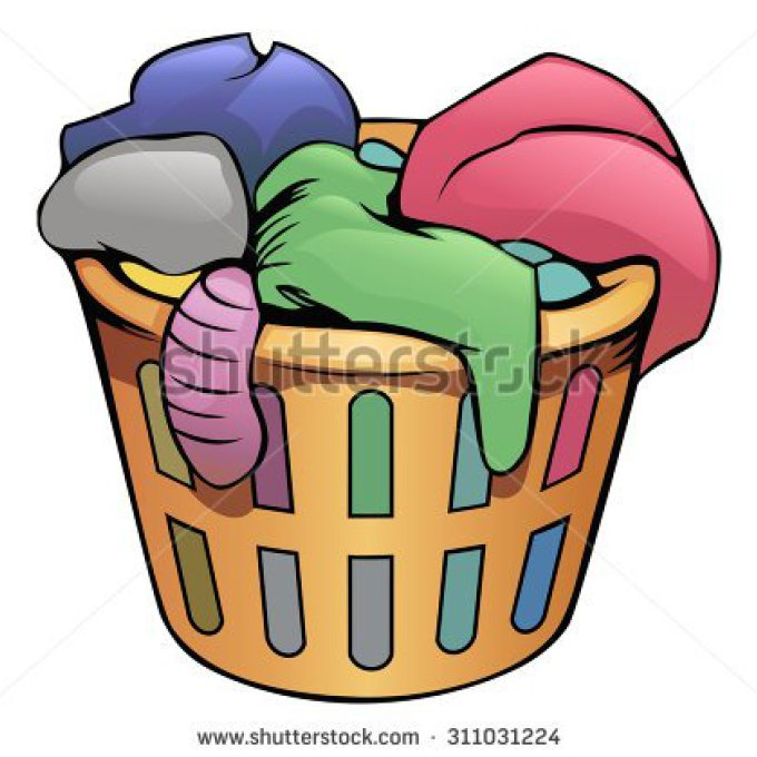 animated basket gallery. Laundry clipart