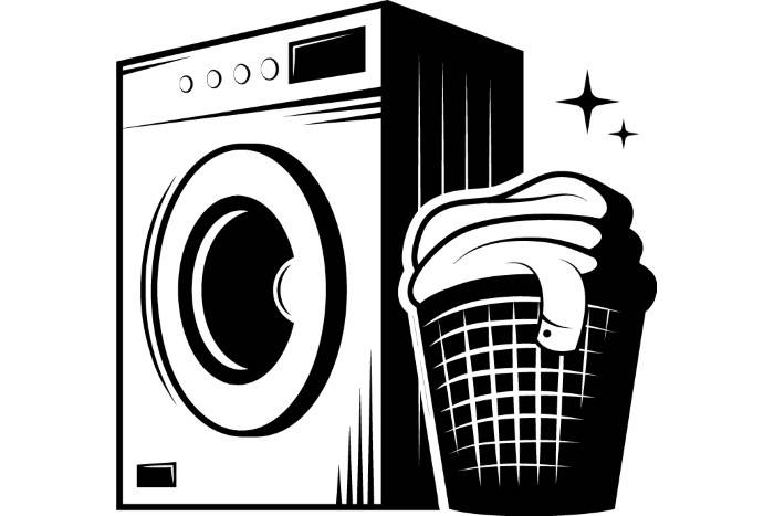 Laundry clipart. Logo washing machine wash