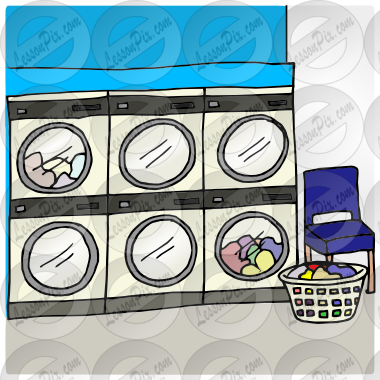 Laundromat picture for classroom. Laundry clipart laundry mat