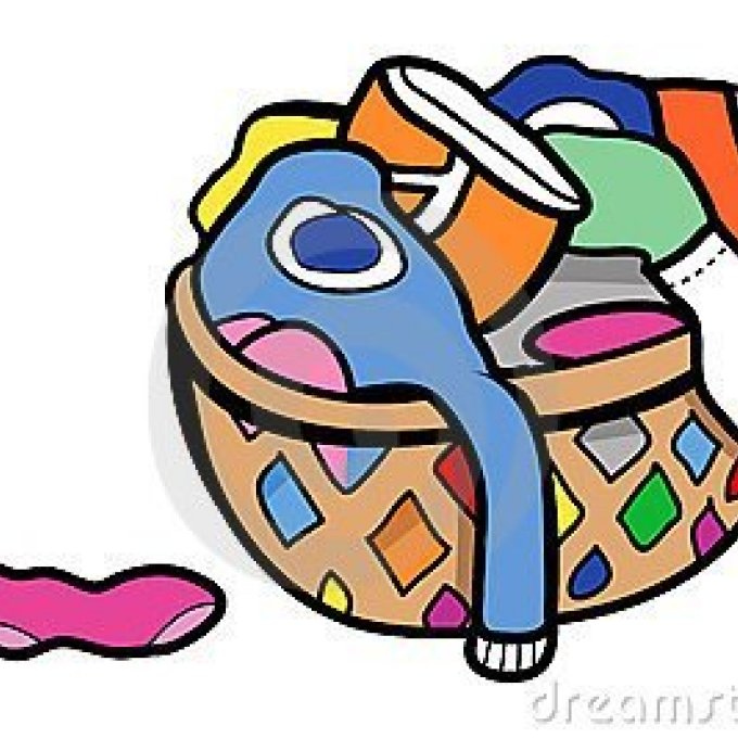 Laundry clipart soiled clothes.  dirty bag clip