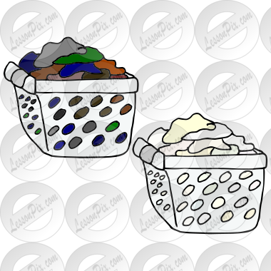 Laundry clipart sort laundry. Picture for classroom therapy