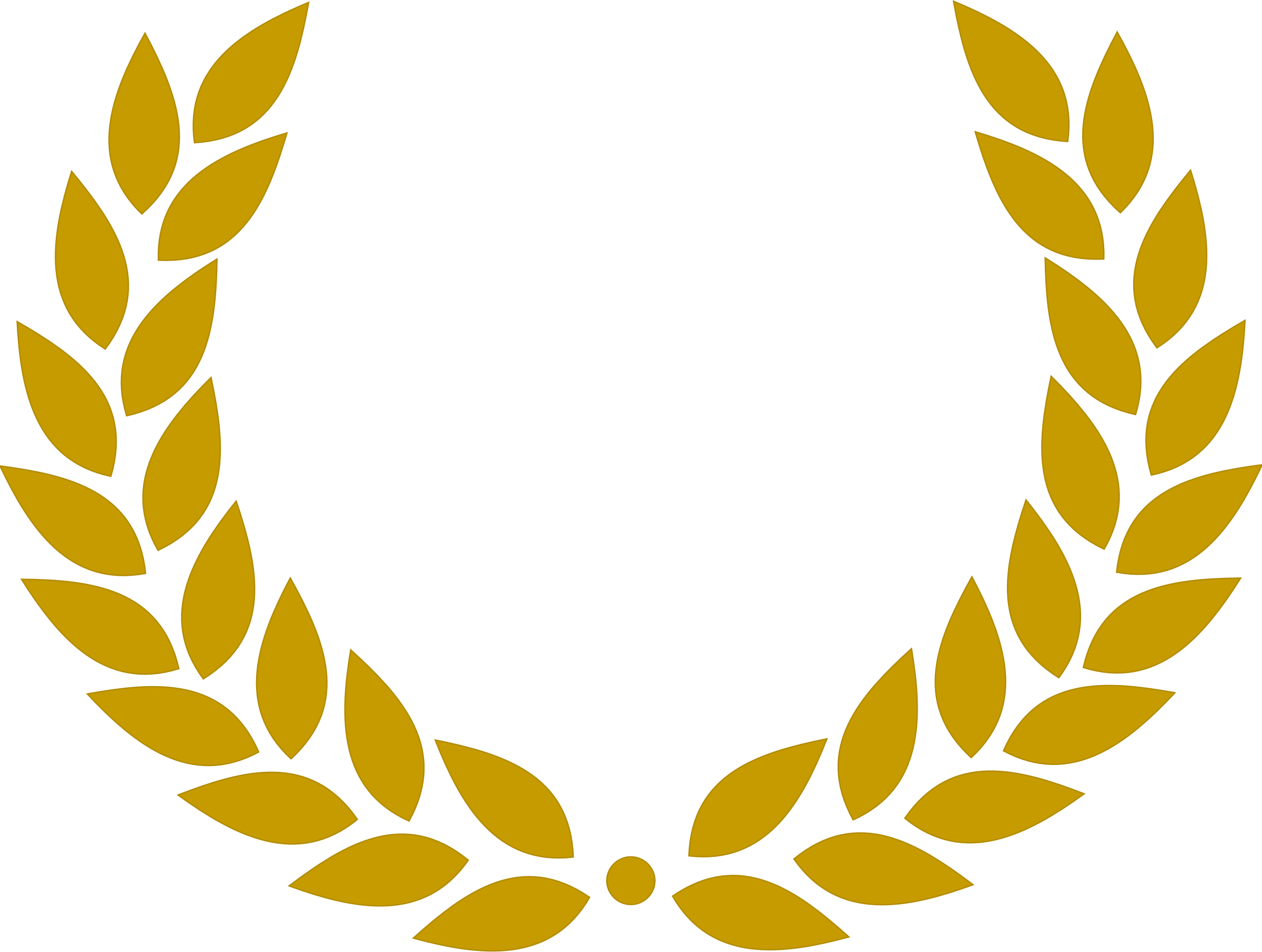 collection of gold. Laurel clipart film