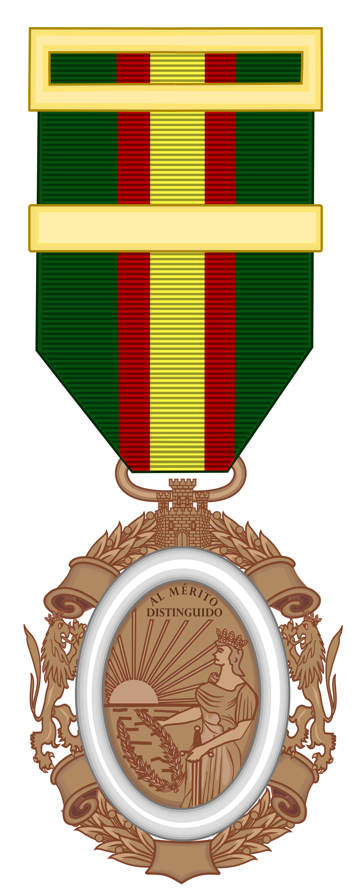 Medal clipart medal stand. Medalla del ej rcito